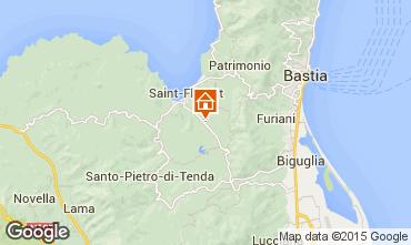 Mapa Saint Florent Villa 90096