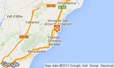 Mapa Oropesa del Mar Apartamento 86575