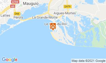 Mapa Le Grau du Roi Apartamento 104513
