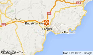 Mapa Fréjus Apartamento 85654