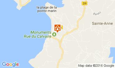 Mapa Sainte Anne (Martinique) Apartamento 67787