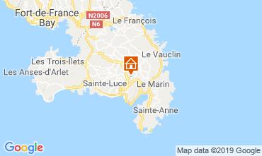 Mapa Sainte Luce Apartamento 114516