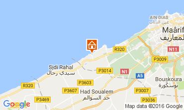 Mapa Casablanca Apartamento 106856