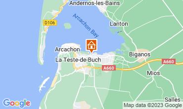 Mapa Arcachon Mobil home 93639