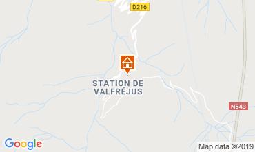 Mapa Valfréjus Apartamento 49989