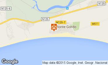 Mapa Monte Gordo Apartamento 80752