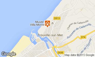 Mapa Trouville sur Mer Apartamento 10801