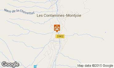 Mapa Les Contamines Montjoie Apartamento 950