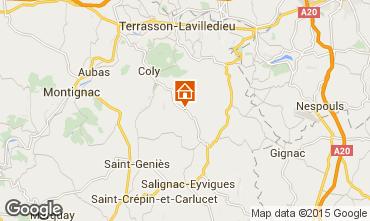 Mapa Sarlat Casa rural 30246