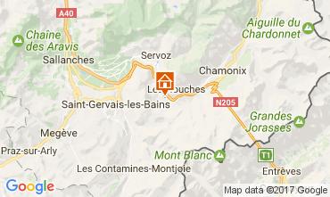 Mapa Chamonix Mont-Blanc Apartamento 108076