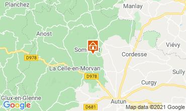 Mapa Autun Casa rural 112325