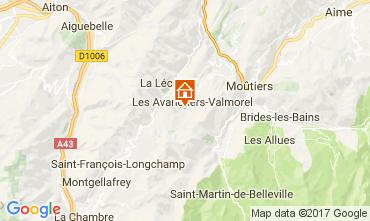 Mapa Valmorel Apartamento 112441