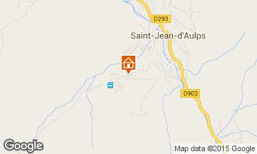 Mapa Saint Jean d'Aulps- La Grande Terche Apartamento 48953