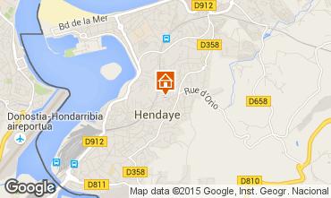 Mapa Hendaya Apartamento 93614