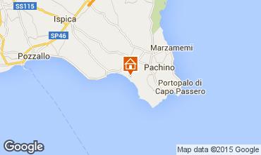 Mapa Pachino Apartamento 76992