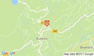 Mapa Aussois Apartamento 111664