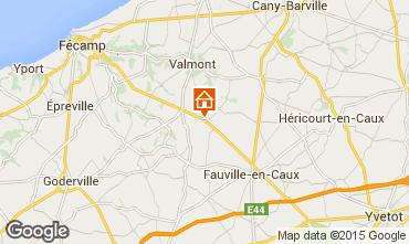 Mapa Etretat Casa rural 77597