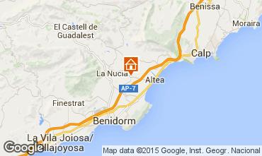 Mapa Altea Villa 99083