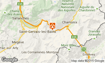 Mapa Les Houches Estudio 62468