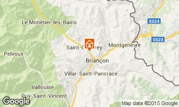 Mapa Brian�on Apartamento 80698