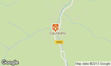 Mapa Cauterets Apartamento 56119