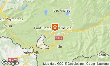 Mapa Font Romeu Apartamento 4115
