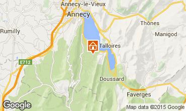 Mapa Annecy Apartamento 77394