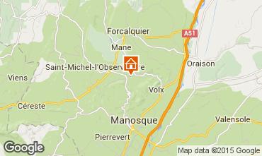 Mapa Forcalquier Casa rural 11875