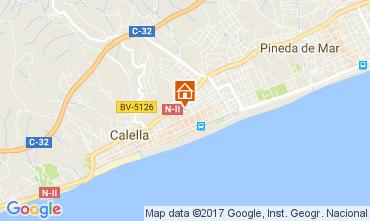 Mapa Calella de Mar Apartamento 111108