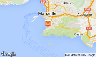 Mapa Marsella Apartamento 18588