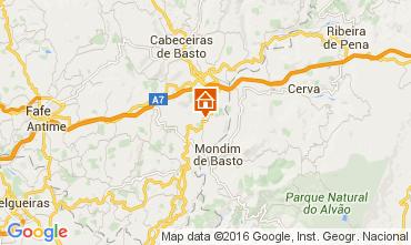 Mapa Celorico de Basto Casa rural 64269