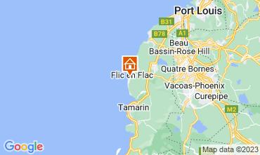 Mapa Flic-en-Flac Apartamento 94521