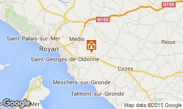 Mapa Royan Casa 84053