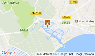 Mapa Rosas Apartamento 108333