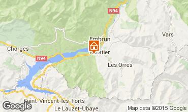 Mapa Les Orres Chalet 74692