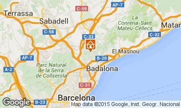 Mapa Barcelona Apartamento 75645