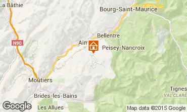Mapa La Plagne Chalet 65260
