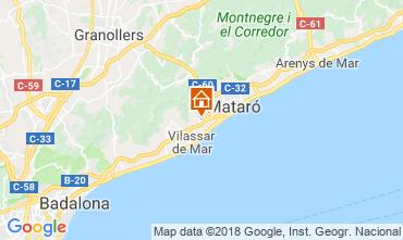Mapa Barcelona Villa 116089