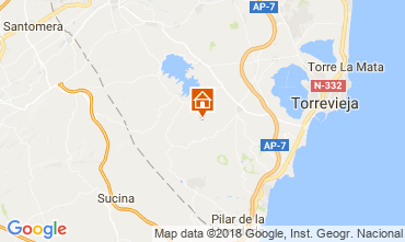 Mapa Alicante Apartamento 114022