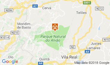 Mapa Vila Real Casa rural 114765