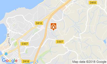 Mapa San Juan de Luz Apartamento 114633