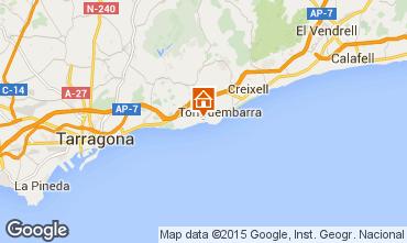Mapa Tarragona Apartamento 8176