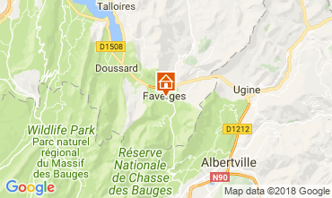 Mapa Annecy Apartamento 115485