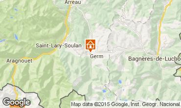 Mapa Loudenvielle Chalet 4356