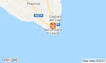 Mapa Santa Maria di Leuca Apartamento 65510