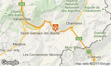 Mapa Chamonix Mont-Blanc Estudio 65387