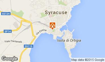 Mapa Siracusa Villa 48546