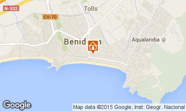 Mapa Benidorm Apartamento 69891