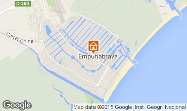 Mapa Ampuriabrava Casa 68928