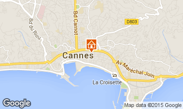 Mapa Cannes Estudio 33342